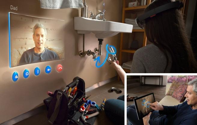 Microsoft-HoloLens-Skype-RGB1 Photos 2
