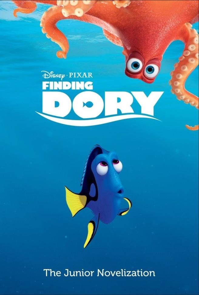 Finding Dory Junior Novelization Cover